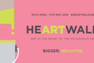 Business Precision is proud to partner again with Heartwalk - Art in the Heart of the Kalgoorlie CBD